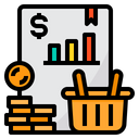 Shopping Report Icon