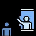 Social Content Social Media Social Distancing Icon