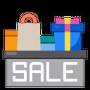 Shopping Bag Gift Box Icon