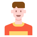 Short Hair Man Icon