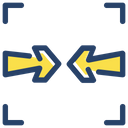Two Way Arrow Direction Icon