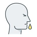 Sick Runny Nose Snot Icon