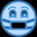 Sick Mask Medical Icon