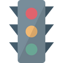Signal Lights Traffic Control Traffic Lamp Icon