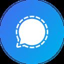 Signal Social Media Communication Icon