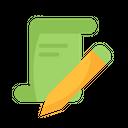 Signature Certificate Estate Icon
