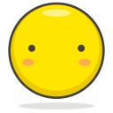 Silence Face Smiley Icon