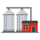 Silo Storeroom Repository Icon