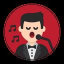 Sing Singer Song Icon