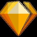 Sketch Technology Logo Social Media Logo Icon