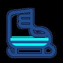 Ski Shoes Icon