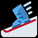 Skis Skate Ice Icon
