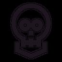 Skull Death Human Icon