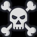 Skull Horror Spooky Icon