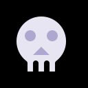 Skull Scary Dark Icon