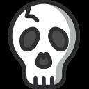 Skull Bone Evil Icon