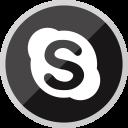 Skype Social Media Icon