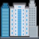 Skyscraper Skyline Building Icon