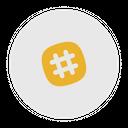 Slack Old Social Media Logo Icon