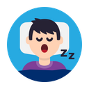 Sleep Bed Night Icon