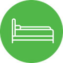 Sleeping Bed Furniture Icon
