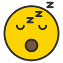 Artboard Sleeping Face Sleep Icon