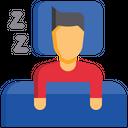 Sleeping Time Sleeping Hour Schedule Icon