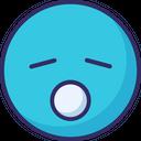 Sleepy Sleepy And Open Mouth Sleep Icon