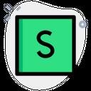 Slides Technology Logo Social Media Logo Icon