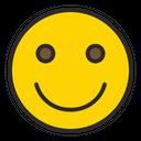 Artboard Slightly Smiling Face Smiling Icon