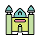 Small Mosque Islamic Mosque Icon