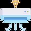 Smart Home Technology Digital Icon