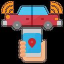 Car Internet Internet Of Things Icon