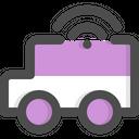 Smart Car Transportation Vehicle Icon