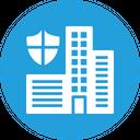 Smart City Saftey Icon