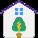 Smart Farm Greenhouse Icon