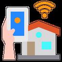 House Smartphone Mobile Icon
