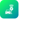 Smart Parking Car Icon