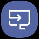 Smart View Samsung Icon
