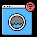 Smart Washing Machine Washing Machine Device Icon