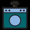 Smart Washing Machine Washing Machine Technology Icon