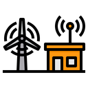 Smart Windmill Icon