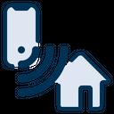 Smarthome Wireless Technology Icon