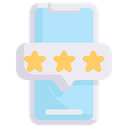 Smartphone Rating Icon