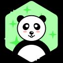 Smile Panda Face Icon