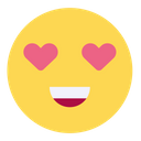 Smiley Heart Love Emoji Icon