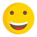 Artboard Smiling Face With Smiling Eyes Smile Icon