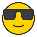 Smiling Face With Sunglasses Icon