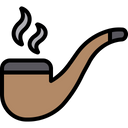 Smoking Pipe Smoke Pipe Icon