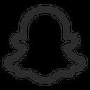 Snapchat Social Media Logo Icon